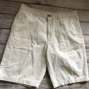 Tommy Bahama Relax 36 Shorts Flat Front Ivory